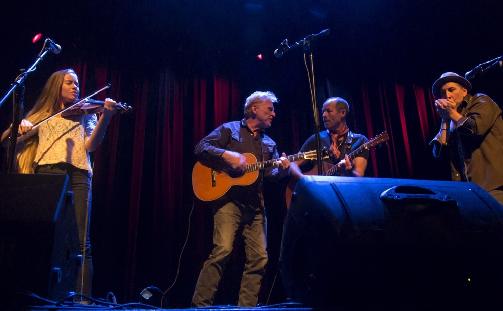 Kendal Carson, Russell deCarle, Barney Bentall, & Mike Stevens